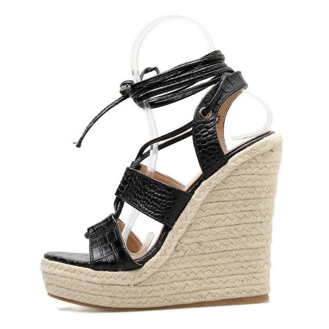 Cross Ankle Straps Roman Sandal 4