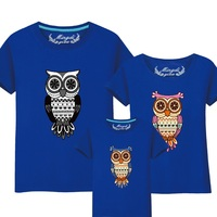 95 Cotton 5 Silk Mother And Daughter Matching Clothes Father Mom Son Baby T Shirt Summer