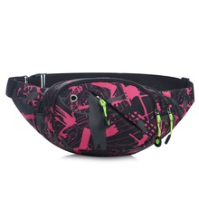 купить Canvas Waist Bag Female Belt New Brand Fashion Waterproof Chest Handbag Unisex Fanny Pack Ladies Waist Pack Belly Bags Purse онлайн