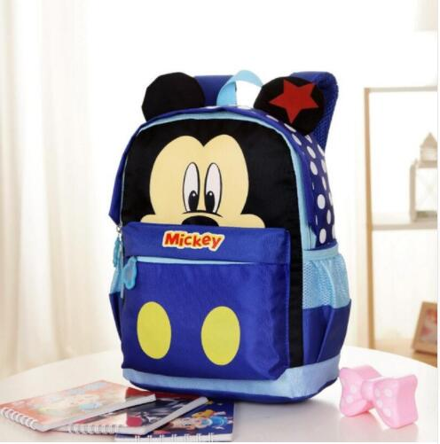 New Cartoon Mickey Children Backpacks Kids Kindergarten Backpack School Bags Satchel For Boys And Girls Minnie Gift Bag