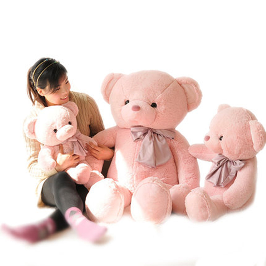 Kawaii Teddy Bear Stuffed Toys Stuffed Animal Bear Girls Gifts Birthday Plush Pillow Pets Big Ted Plush Toy Animals 70C0396 giant teddy bear plush soft toys doll bear sleep girls gifts birthday kawaii large teddy bear stuffed animal plush toy 70c0426