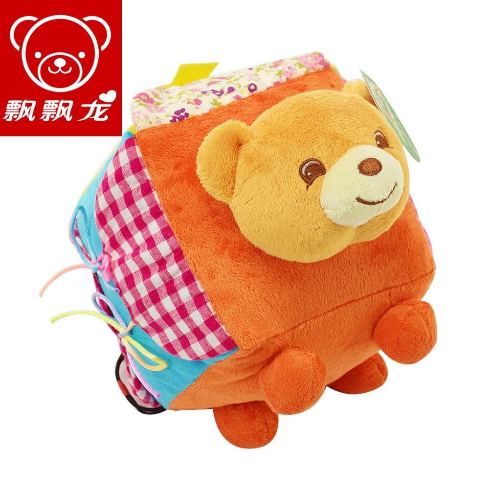 Candice guo plysj leketøy pedagogisk morsom dressing boks søt teddy - Bygg og teknikk leker - Bilde 1