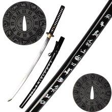 Для 12 Гороскоп Samurai Sword Знак Современной Фэнтези Катана Реального Стальное Лезвие Полный Тан