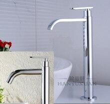 Хорошее качество одной холодной воды 31 см высокий водопад ванной кран Chrome или начесом