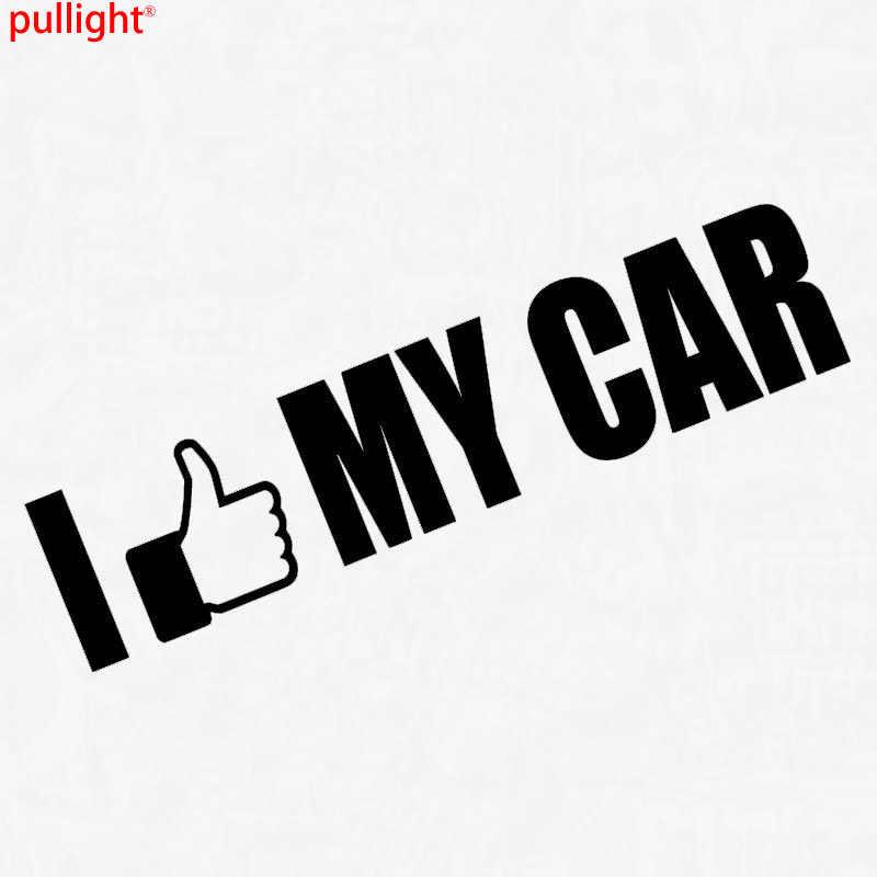 I Like My Car Spruch Tuning Hipster Fun Shocker Sticker Auto Aufkleber Jdm