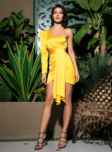 Amor amarelo limonada bodycon