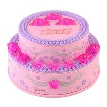 Christmas Music Boxes Mechanism Sankyo Hand Crank Music Box Movements Girls Musical Jewelry Box Birthday AnimatedNew Year Gift