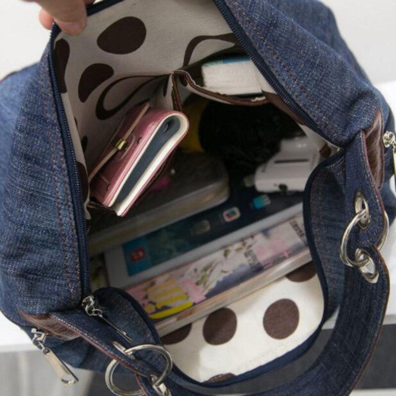 2017 grande luxo senhoras denim 3 : Women Bag Luxury Brand