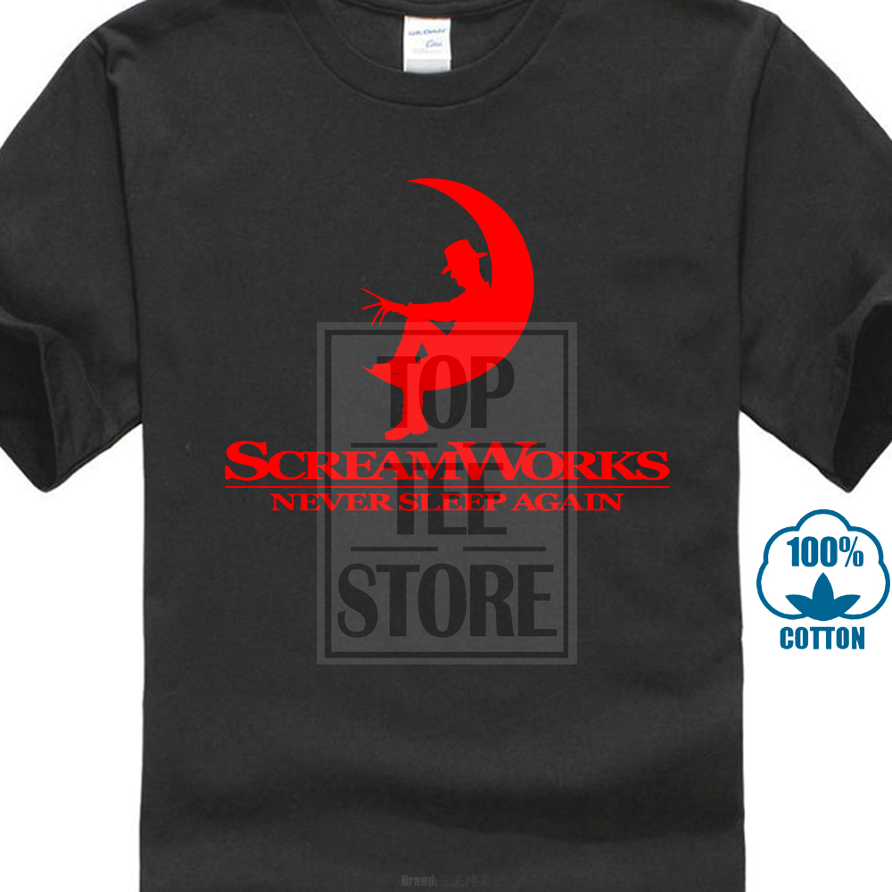 959baf851 Aliexpress.com : Buy Screamworks T Shirt Freddy Krueger Nightmare On Elm St  Dreamworks Parody from Reliable T-Shirts suppliers on trendy tees Store