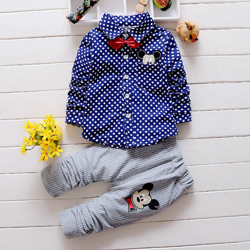 DIIMUU 2PC Toddler Clothes Outfits Children Clothing Sets