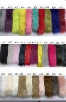 Good quality pile 3 3.5cm plush fabric imitation fox fur fabric,Clothing shoes bag material,180cmX45cm(half yard)/pcs