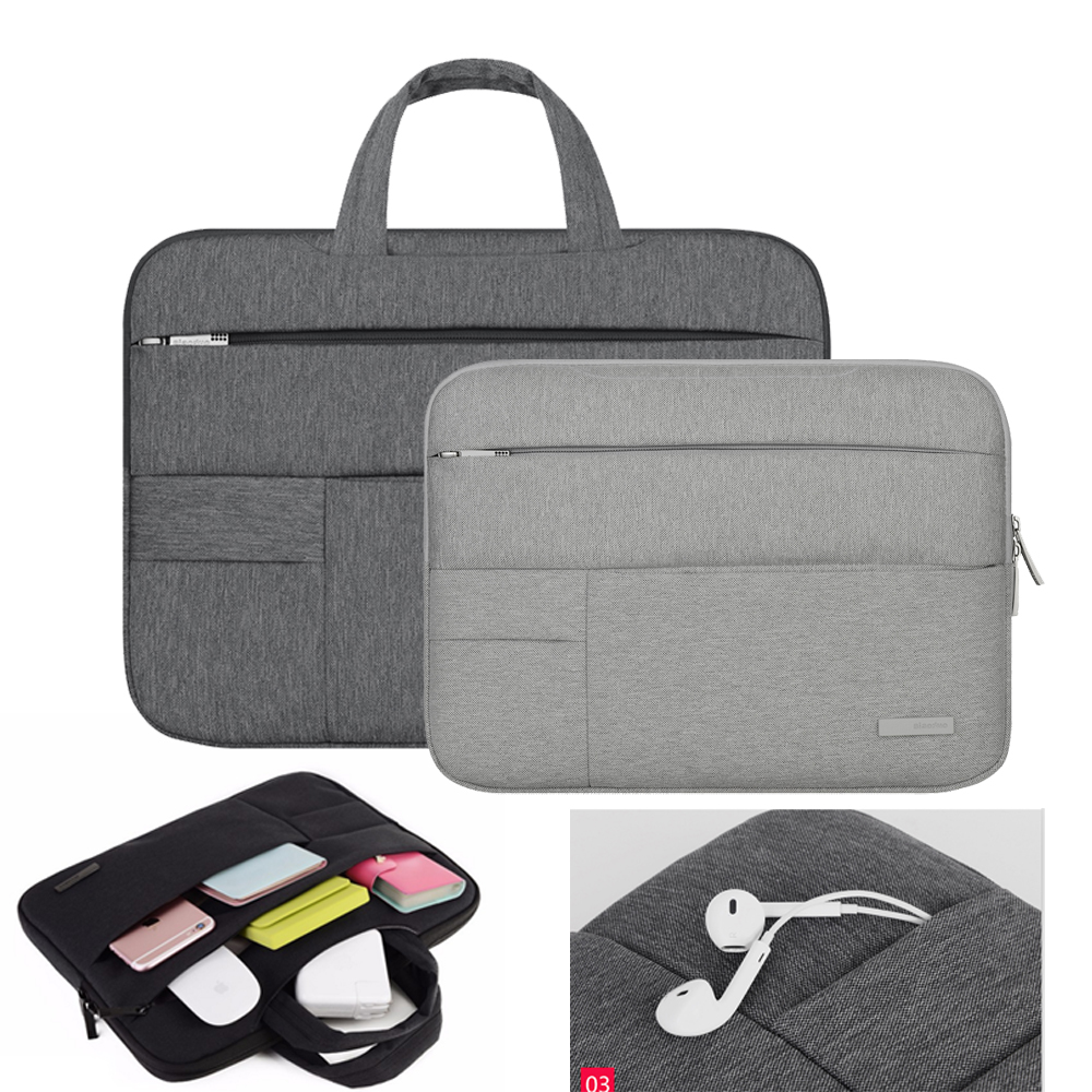 Men Women Portable Notebook Handväska Air Pro 11 12 13 14 15.6 - Laptop-tillbehör - Foto 2