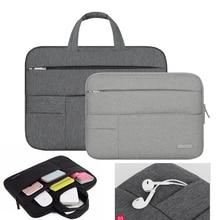 Portable Zipper Closure Nylon Sleeve Case for Laptop