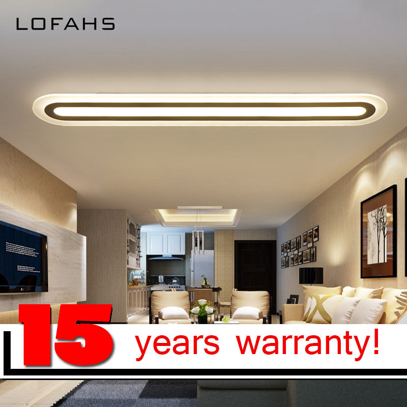 LOFAHS LED Ceiling Light Modern Plexiglass Kitchen Home Lighting For Dining Room Corridor Lamp De Techo
