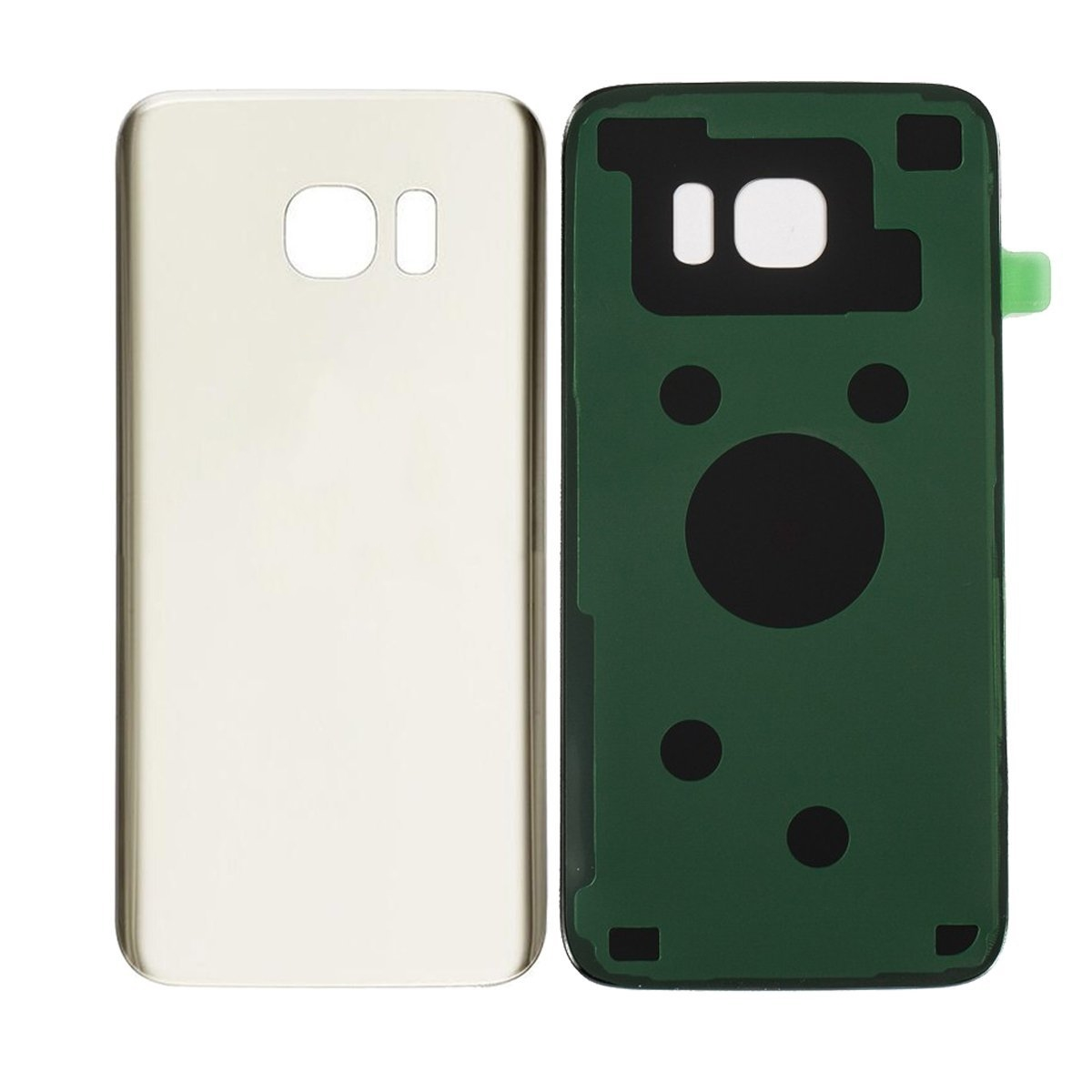 Pour Samsung S7 Bord Batterie En Verre de Couverture Arrière pour Samsung Galaxy S7 Bord G935 Arrière Couverture De Porte 3 M Colle Remplacement Pièces De Rechange