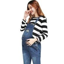 630b49d226f2 Denim Maternity Jeans Suspender Pants Overalls Braced Jumpsuits For Pregnant  Women Uniforms Pregnancy Romper Prop Belly Trousers