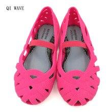Mini melissa chaussures 2017 gelée sandales pour bébé infantil sandales filles birdnest enfants chaussures enfants cut-outs melissas sandales