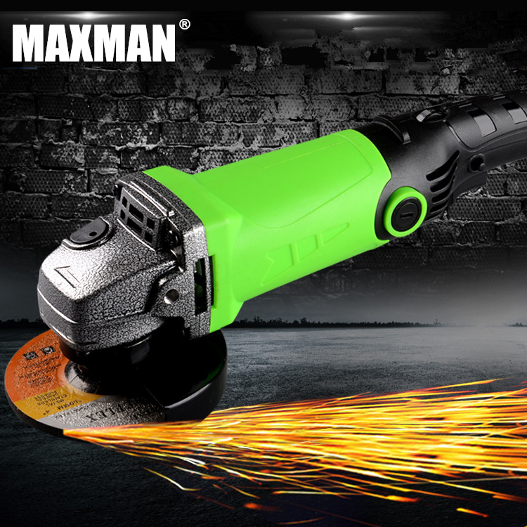 MAXMAN Electric Angle Grinder Polisher Grinding Power Tool Dremel Tool Polishing Machine for Grinding of Woodworking vibration type pneumatic sanding machine rectangle grinding machine sand vibration machine polishing machine 70x100mm