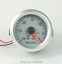 2″ 52мм синий Фантом Белый 2 1/16″ указатель наддува вакуумный Манометр манометр наддува 0-30 ст. Бесплатная доставка