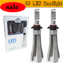 KSEGA china import goods Car LED 2X h15 Headlight Bulbs Epistar Chip with Canbus h4 9005 h11 h27 h7 hb4 d1 led bulb car with DRL