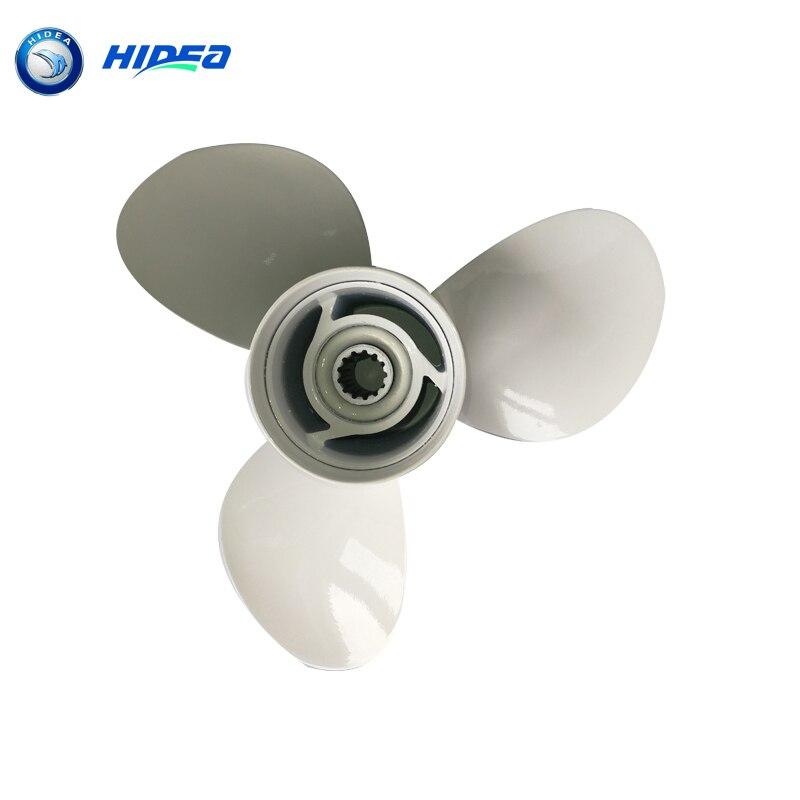 купить Propeller 3*11-1/8*13 Hidea 40F 2 Stroke 40HP For YMH E40X 69W-45945-00-EL Boat Engine по цене 2503.1 рублей