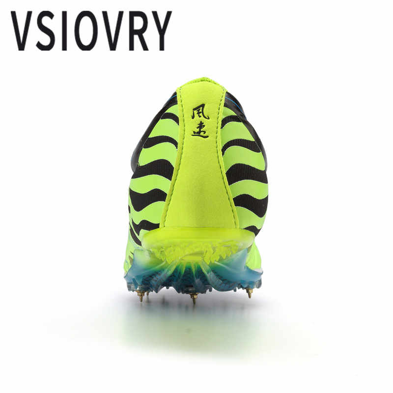 VSIOVRY/Новинка 2018 года; мужские кроссовки для бега; женские спортивные кроссовки с шипами; спортивные кроссовки унисекс для бега