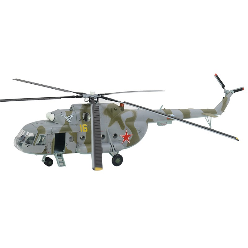 1/72 Scale Pre-built Mi-17 Mi-8M Hip Soviet Transport Helicopter Hobby Finished Plastic Aircraft Model