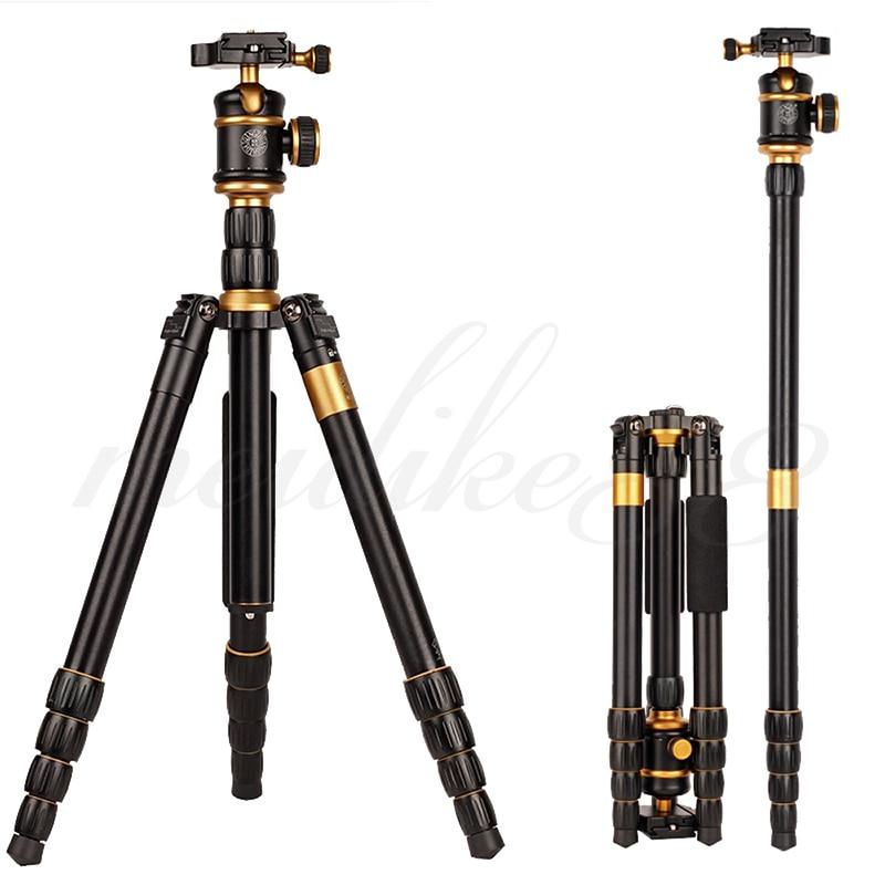Q888 Taşınabilir Seyahat Tripod Monopod DSLR DV Video Kamera Kamera - Kamera ve Fotoğraf