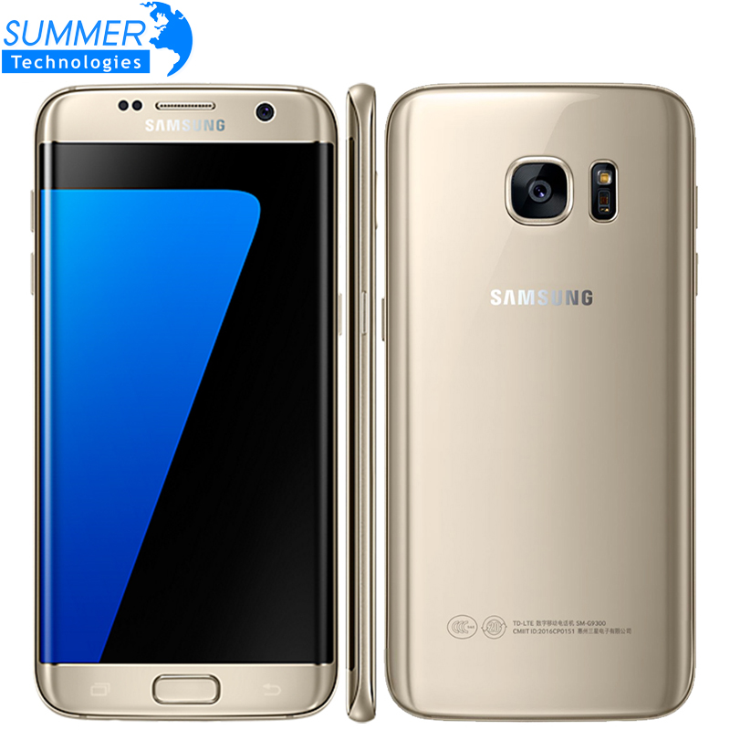 Original Samsung Galaxy S7 Edge LTE Mobile Phone