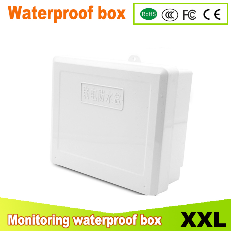 Free Shipping Electrical Cabinet ABS Plastic Enclosure 190*217*75mm Plastic Junction Box, Waterproof Enclosure IP67 free shipping terminal box industrial plastic waterproof box electrical junction box 160 160 90mm