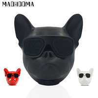MaoHooMa Wireless Speaker Hifi Bluetooth Speaker Outdoor Portable Bass Speaker Big dog head Touch Control for iphone5,6,7,8,X
