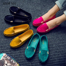 ARSMUNDI Hot Sale Summer Woman Flats New Fashion Pure Color Wild Concise Casual Shoes Round Toe Comfortable Female Shoes M186