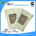 1pair =2 pcs far-infarared knee pad for rheumatism, knee joint pain, osteoarthritis, spur warm knee pad
