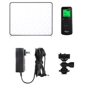 Image 5 - Viltrox Panel de luz de vídeo LED, delgado de doble color VL 200T, Kit de soporte VL 200 3300 5600k 30W, juego de iluminación de relleno de fotos remoto inalámbrico
