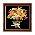 3D Ribbon cross stitch decoration painting for home chinese cross stitch flowers new fashion Ribbon embroidery Beginner Needlewo