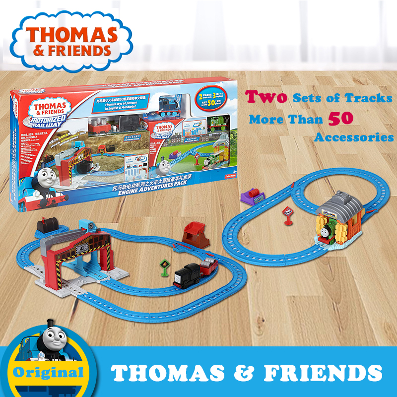 Thomas Collection Anime Electric Train Toy Car Track For Children Learning Building Track Thomas and Friends DKP72