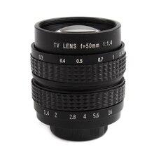 50 мм F1.4 cc ТВ фильм Объектив C крепление для Canon EOSM/m2/m3 камеры