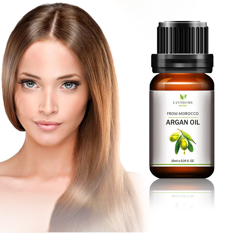 10ML Morocco Argan OilMoisturizing Professional Dry Damaged Hair Maintenance Keratin Repair Hair Scalp Treatment Hair Mask TSLM1 1