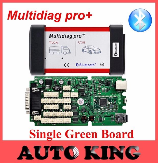 De placa única versão V2014.R2 dvd com Keygen Multidiag Bluetooth Pro + novo vci CDP + para Carros e Caminhões 3in1 OBD2 varredura