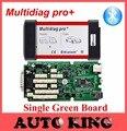 Sola tarjeta versión V2014.R2 dvd con Keygen Bluetooth Multidiag Pro + nuevo vci CDP + para Los Coches y Camiones 3in1 OBD2 scan