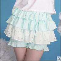 Princess Sweet Lolita Shorts Dolly Delly Original Soft Sister Cute Star School Wind Layer Cake Skirt