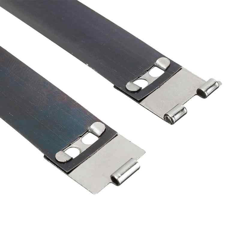 10 個 DIY 金属内部の Flex フレームクラスプバッグ財布ハンドバッグ縫製内部交換ヒンジ春クリップ修理アクセサリー