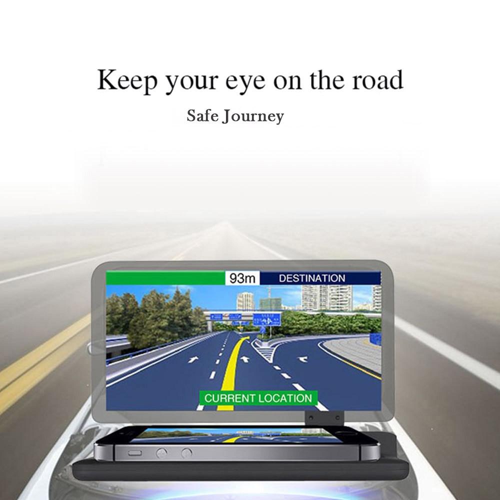 Car Hud Head Up Display Mobile Phone Gps Navigation
