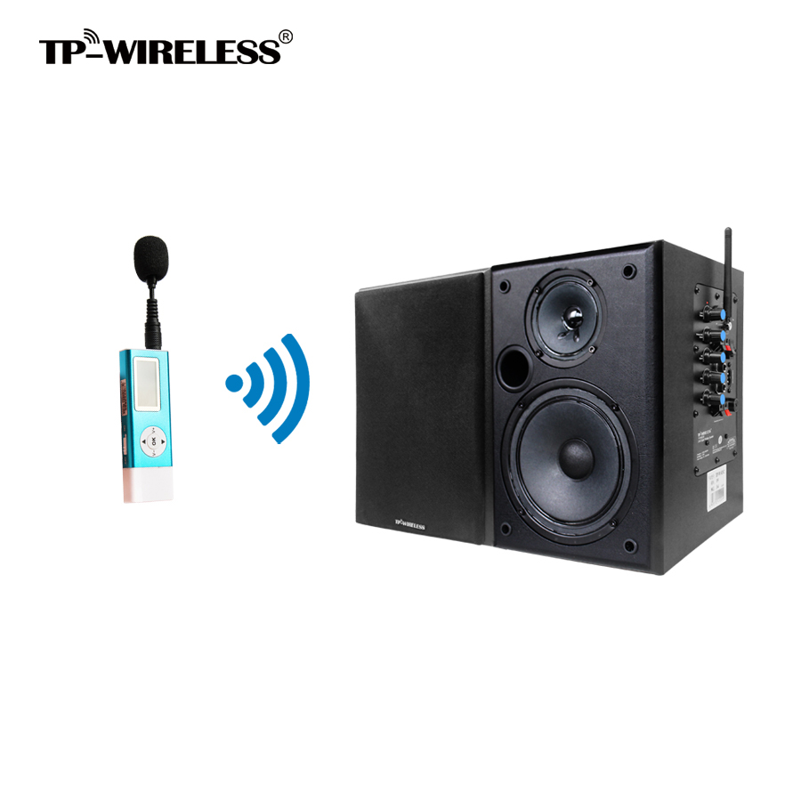 tp wireless 2 4ghz wireless teacher speaker system clip. Black Bedroom Furniture Sets. Home Design Ideas