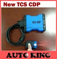 Blue TCS cdp pro with green v3.0 pcb relays no bluetooth version for cars and trucks obd2 Diagnostic tool Free Ship