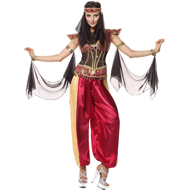 Deluxe Sexy Belly Dance Costume Set 5pc (Top+Skirt+Belt+Headwear+  sc 1 st  AliExpress.com : bollywood halloween costume  - Germanpascual.Com