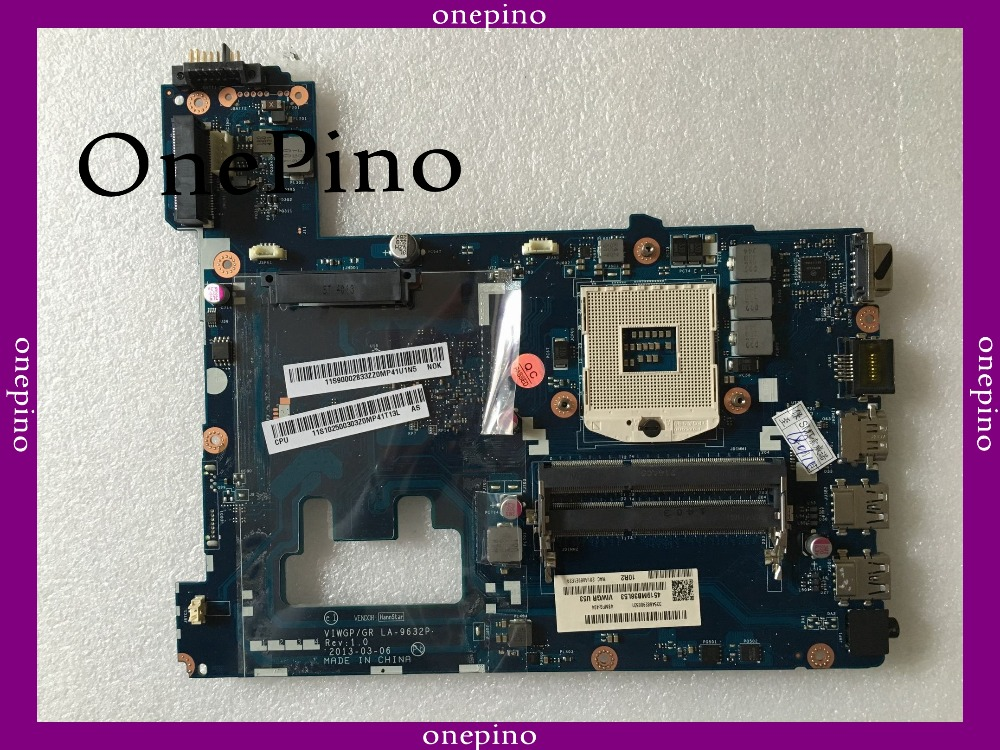 LA-9632P pour Lenovo G500 ordinateur portable carte mère HM70 ordinateur portable carte mère s989 VIWGP/GR, LA-9632P testé