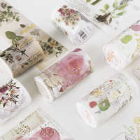 Eno Greeting watercolor flower masking tape scrapbooking background sticker bullet journal tape washi