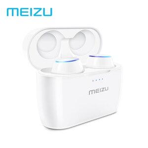 Image 2 - Original Meizu POP TW50 Dual Wireless Earphones Mini TWS Headset Sports In Ear Earbuds Waterproof Headset