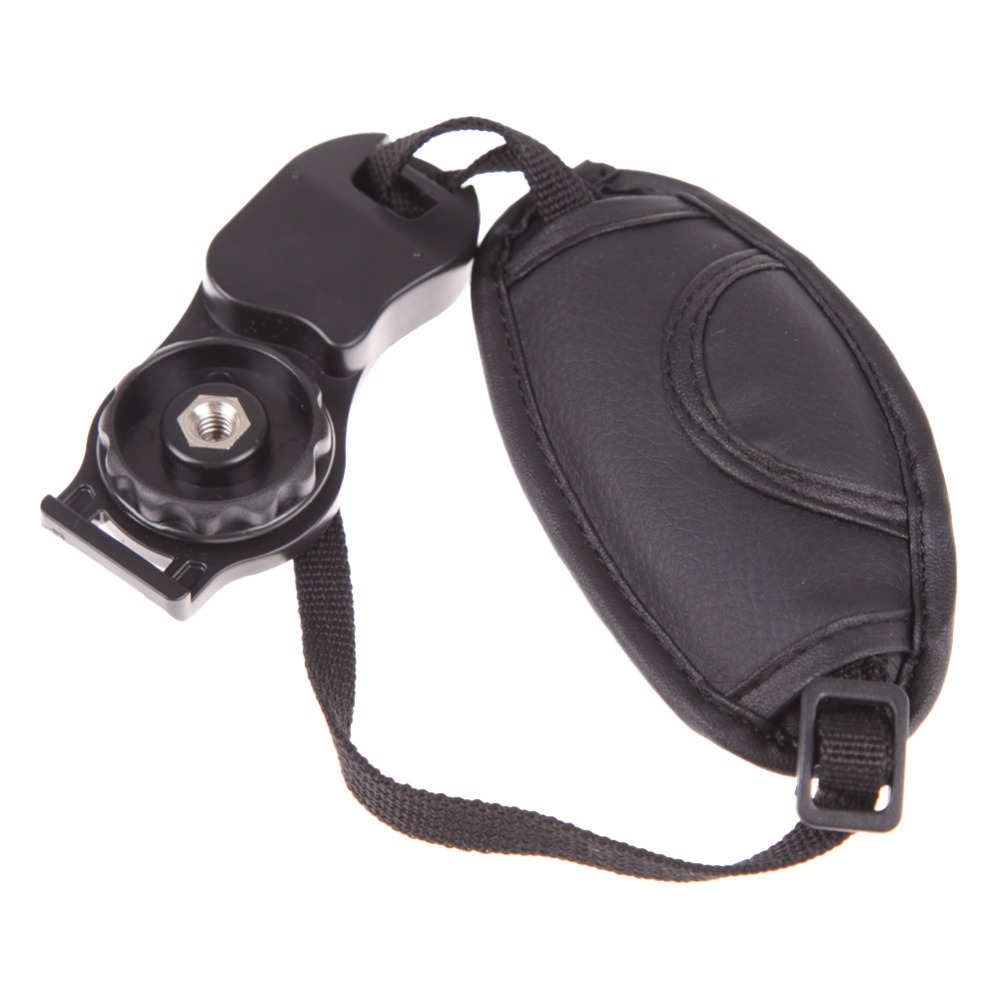 Camera Strap PU Leather Wrist Strap Hand Grip Adjustable strap for Nikon Canon Sony SLR DSLR Cameras Photography Accessories